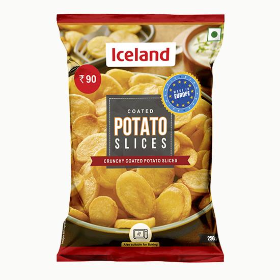 Coated Potato Slices